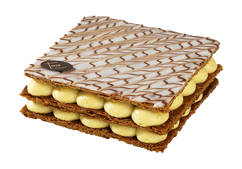 mille feuille gateau taupy patisserie